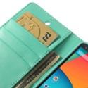 LG Nexus 5 Portfel Etui – Sonata Cyjan