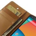 LG Nexus 5 Portfel Etui – Sonata Brązowy