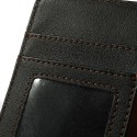 LG Optimus L4 II Portfel Etui – Litchi Czarne