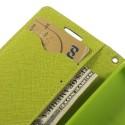 Motorola Moto E Portfel Etui – Fancy Niebieski