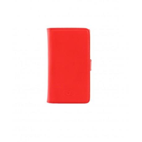 Nokia Lumia 520 - etui na telefon i dokumenty - Insmat czerwone