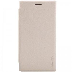 Nokia Lumia 730 / 735 - etui na telefon - Nillkin Sparkle złote