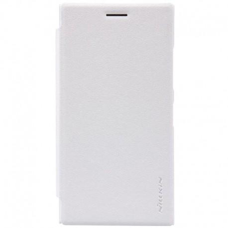 Nokia Lumia 730 / 735 - etui na telefon - Nillkin Sparkle białe