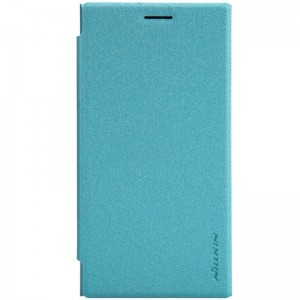 Nokia Lumia 730 / 735 - etui na telefon - Nillkin Sparkle niebieskie