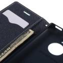 Nokia Lumia 830 Portfel Etui – Fancy Cyjan