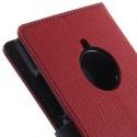 Nokia Lumia 830 Portfel Etui – Fancy Czerwony
