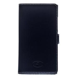 Nokia Lumia 920 - etui skórzane na telefon i dokumenty - Insmat czarne