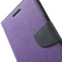 Oppo Find 7 Portfel Etui – Goospery Fancy Purpurowy