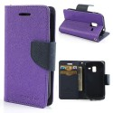 Samsung Galaxy Ace 2 Portfel Etui – Fancy Purpurowy