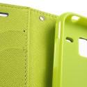 Samsung Galaxy Ace 2 Portfel Etui – Fancy Niebieski