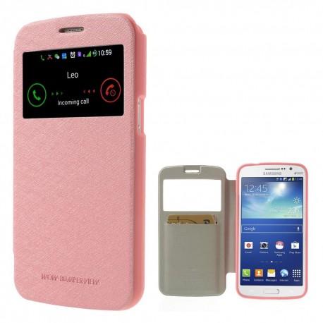 Samsung Galaxy Grand 2 - etui na telefon - Wow Bumper różowe