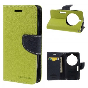 Samsung Galaxy K zoom - etui na telefon i dokumenty - Fancy zielone