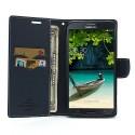 Samsung Galaxy Mega 6.3 Portfel Etui – Fancy Cyjan
