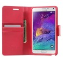 Samsung Galaxy Note 4 Etui – Sonata Ciemny Różowy