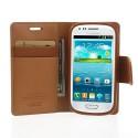 Samsung Galaxy S3 Mini Portfel Etui – Sonata Brązowy