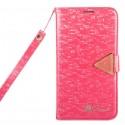Samsung Galaxy S4 Etui – Leiers Eternal Ciemny Różowy