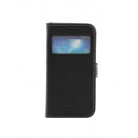 Samsung Galaxy S4 Mini - etui skórzane na telefon - Insmat czarne