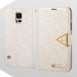 Samsung Galaxy S5 - etui na telefon i dokumenty - Leiers Eternal białe