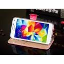 Samsung Galaxy S5 Etui – Leiers Eternal Ciemny Różowy