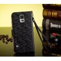 Samsung Galaxy S5 Etui – Leiers Eternal Czarne