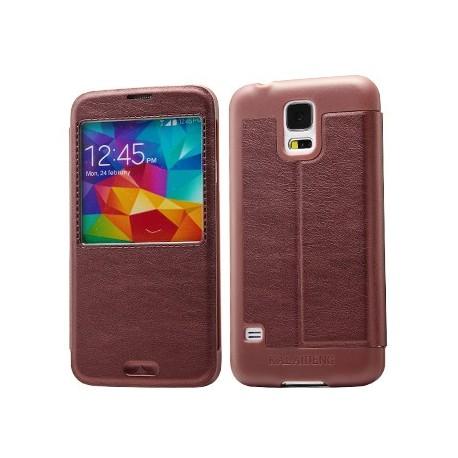 Samsung Galaxy S5 - etui na telefon - KLD KA okno czerwone wino