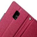 Samsung Galaxy S5 Mini Etui – Ciemny Różowy Fancy
