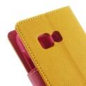 Samsung Galaxy Young 2 Portfel Etui – żółty Fancy