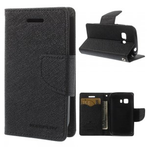Samsung Galaxy Young 2 - etui na telefon i dokumenty - Fancy czarne