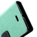 Sony Xperia J Portfel Etui – Fancy Cyjan