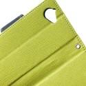Sony Xperia L Portfel Etui – Fancy Zielone