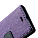Sony Xperia L Portfel Etui – Fancy Purpurowy
