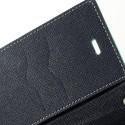Sony Xperia M2 Portfel Etui – Fancy Cyjan