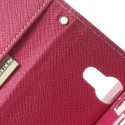 Sony Xperia M2 Portfel Etui – Fancy Różowy
