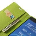 Sony Xperia T2 Ultra Portfel Etui – Fancy Niebieski