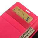 Sony Xperia Z Portfel Etui – Sonata Ciemny Różowy
