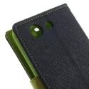 Sony Xperia Z3 Compact Portfel Etui – Niebieski Fancy
