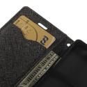 Sony Xperia Z3 Compact Portfel Etui – Czarne Fancy