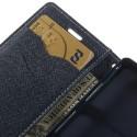 Sony Xperia Z3 Compact Portfel Etui – Cyjan Fancy
