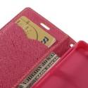 Sony Xperia Z3 Compact Portfel Etui – żółty Fancy
