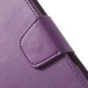 Sony Xperia ZR Portfel Etui – Sonata Purpurowy