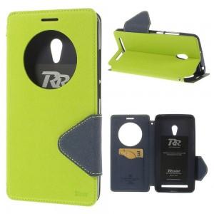 Asus Zenfone 6 - etui na telefon i dokumenty - Roar Korea zielone