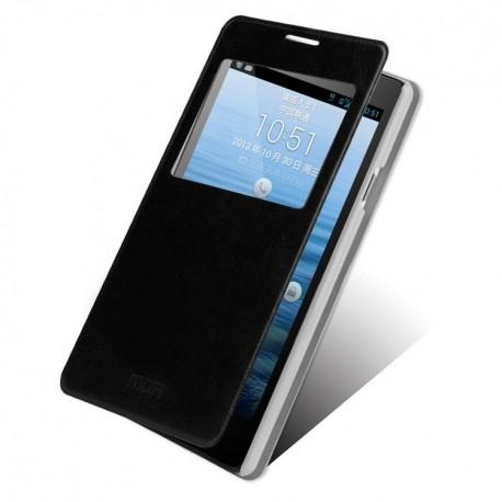 Huawei Ascend G700 - etui na telefon - MOFI czarne