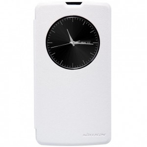 LG L Bello - etui na telefon - Nillkin Sparkle białe
