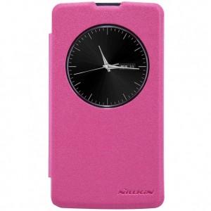 LG L Bello - etui na telefon - Nillkin Sparkle różowe