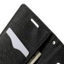 Samsung Galaxy A3 Portfel Etui – Fancy Czarne (KR)