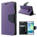 Samsung Galaxy A3 Portfel Etui – Fancy Purpurowy
