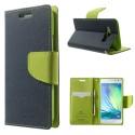 Samsung Galaxy A3 Portfel Etui – Fancy Niebieski (KR)