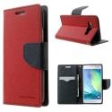 Samsung Galaxy A3 Portfel Etui – Fancy Czerwony (KR)
