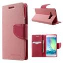 Samsung Galaxy A3 Portfel Etui – Fancy Różowy