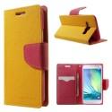 Samsung Galaxy A3 Portfel Etui – Fancy żółty